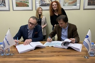 "A general contractor agreement was signed for the final stage of ""NEBO"" shopping center construction in Moscow"